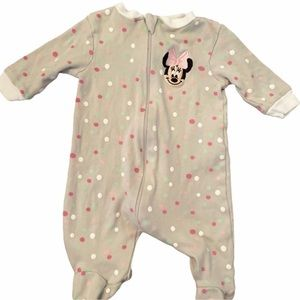✨3 for $30✨Disney Baby Minnie Mouse Sleeper NB